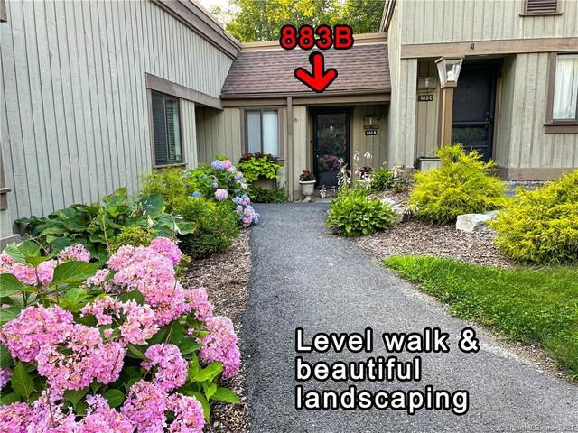 883 Heritage Village B, Southbury, CT 06488 (MLS #170424975) :: Kendall Group Real Estate | Keller Williams