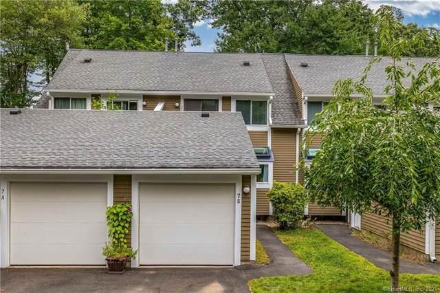126 Hopmeadow Street 7B, Simsbury, CT 06089 (MLS #170430349) :: Kendall Group Real Estate | Keller Williams
