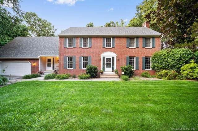 45 Whisper Woods Drive, Somers, CT 06071 (MLS #170431921) :: Linda Edelwich Company Agents on Main