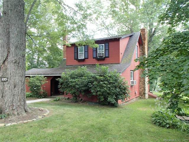 34 Lookout Drive, East Haddam, CT 06423 (MLS #170433753) :: Linda Edelwich Company Agents on Main