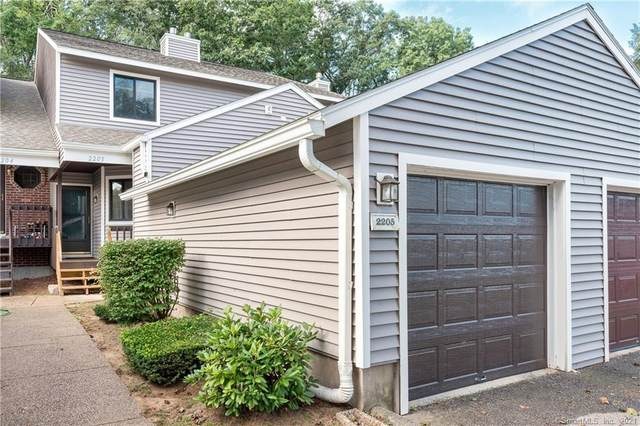 2205 Mill Pond Drive #2205, South Windsor, CT 06074 (MLS #170435075) :: Spectrum Real Estate Consultants