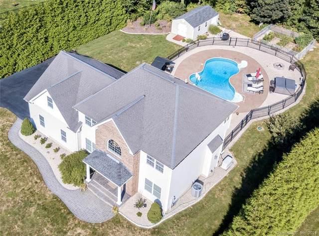 28 Whispering Woods Road, East Hampton, CT 06424 (MLS #170435302) :: Around Town Real Estate Team