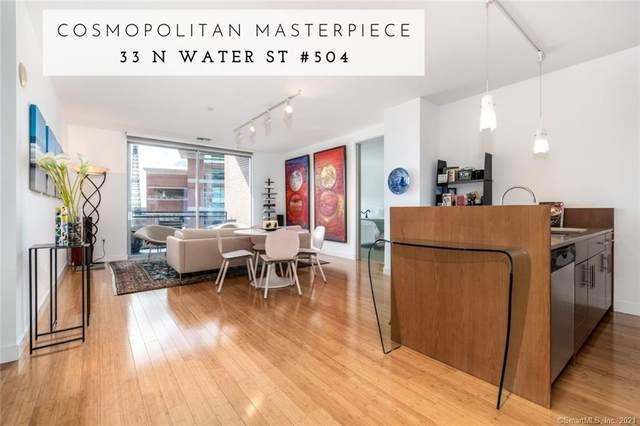 33 N Water Street #504, Norwalk, CT 06854 (MLS #170437260) :: GEN Next Real Estate