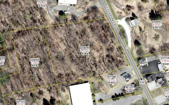 854 Federal Road, Brookfield, CT 06804 (MLS #170442513) :: Chris O. Buswell, dba Options Real Estate