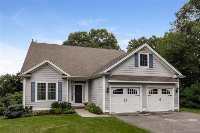 1 Crestview Drive #1, Middlefield, CT 06481 (MLS #170125606) :: Anytime Realty