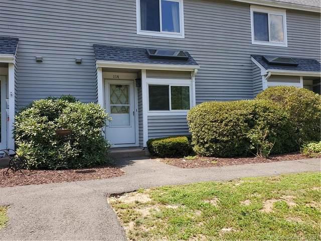 114 Hilltop Drive #114, Simsbury, CT 06089 (MLS #170325457) :: Mark Boyland Real Estate Team
