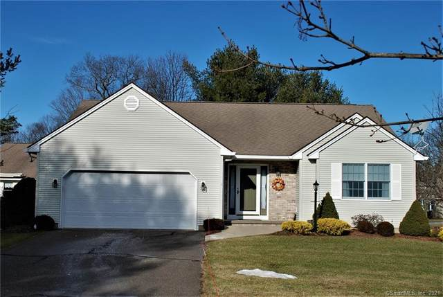 1 Knollwood Circle #1, Enfield, CT 06082 (MLS #170362410) :: Galatas Real Estate Group