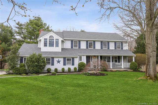 37 Red Rose Circle, Darien, CT 06820 (MLS #170375240) :: The Higgins Group - The CT Home Finder