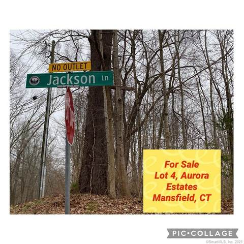 0 Jackson, Lot 4 Lane, Mansfield, CT 06250 (MLS #170381815) :: Team Feola & Lanzante | Keller Williams Trumbull