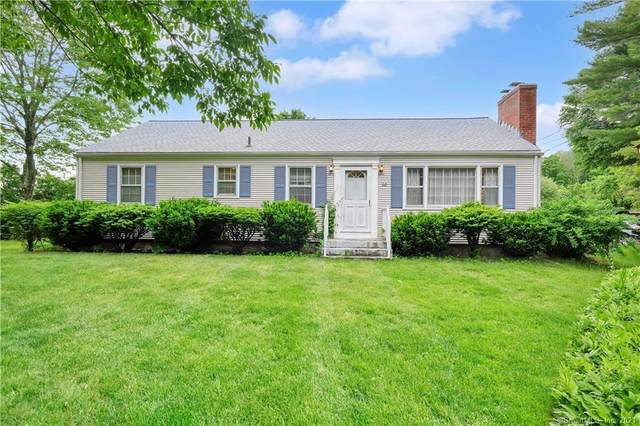 60 W Granby Road, Granby, CT 06035 (MLS #170405114) :: Next Level Group