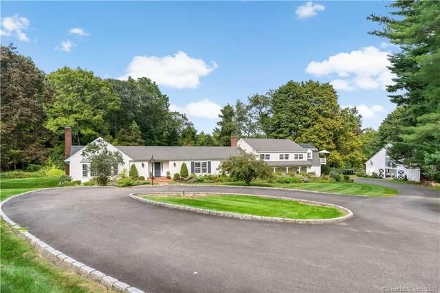 100 Drum Hill Road, Wilton, CT 06897 (MLS #170437931) :: Sunset Creek Realty