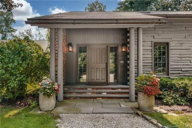 1544 Ponus Ridge, New Canaan, CT 06840 (MLS #170414579) :: Coldwell Banker Premiere Realtors