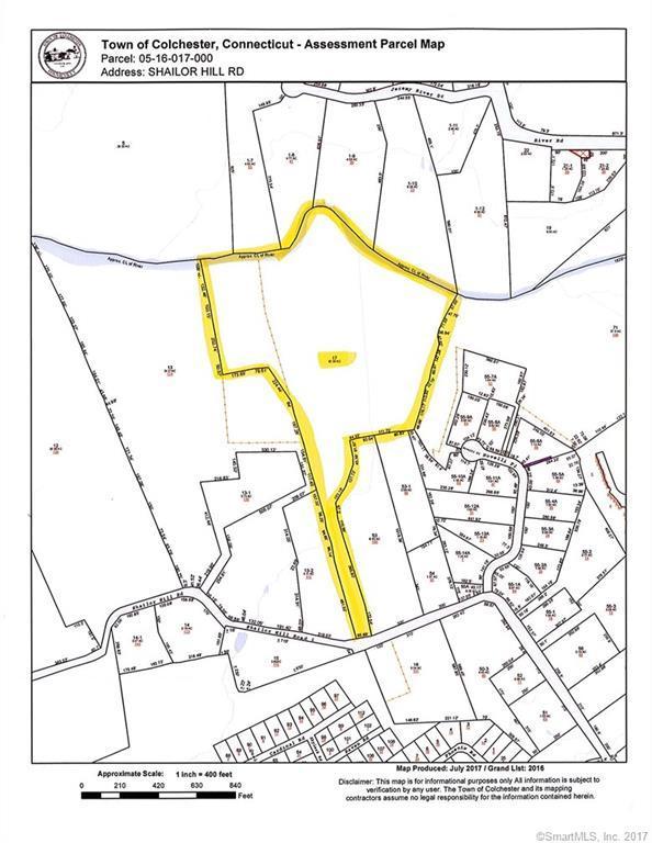 Lot 17 Shailor Hill Road, Colchester, CT 06415 (MLS #170017870) :: Carbutti & Co Realtors
