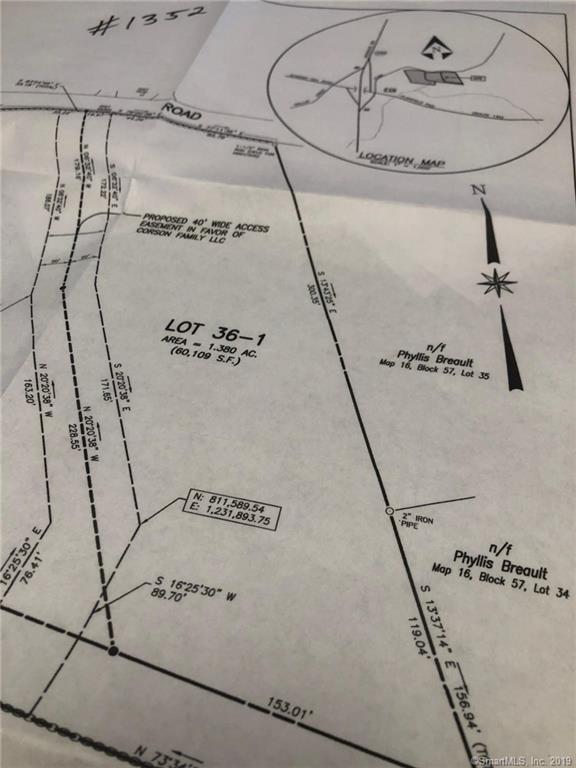 36-1 Starkweather Road, Plainfield, CT 06374 (MLS #170215737) :: GEN Next Real Estate