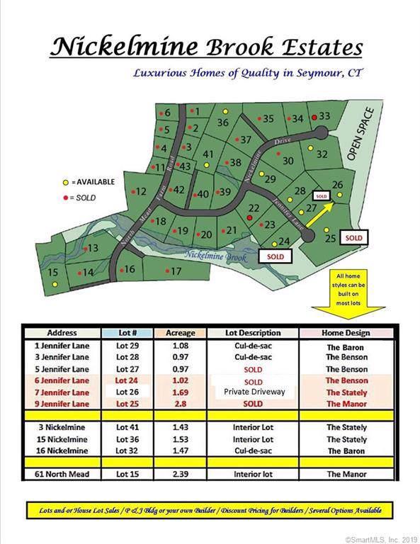 Lot#29 1 Jennifer Lane, Seymour, CT 06483 (MLS #170240674) :: Carbutti & Co Realtors