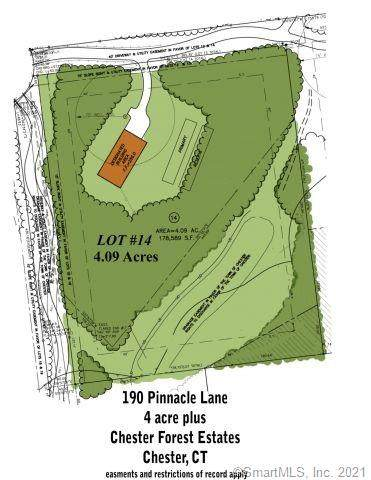 190 Pinnacle Lane, Lot 14, Chester, CT 06412 (MLS #170354914) :: Around Town Real Estate Team
