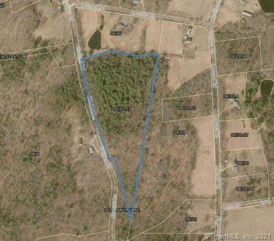 0 Blodgett Road, Stafford, CT 06076 (MLS #170377613) :: Tim Dent Real Estate Group