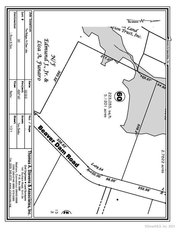 Lot 60 Beaver Dam Road #60, Killingworth, CT 06419 (MLS #170387360) :: Around Town Real Estate Team