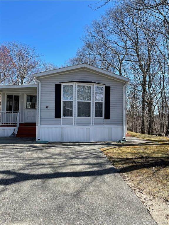 136 Hunters Road #49, Norwich, CT 06360 (MLS #170388626) :: Around Town Real Estate Team