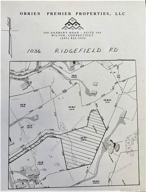 1036 Ridgefield Road, Wilton, CT 06897 (MLS #170396496) :: Around Town Real Estate Team