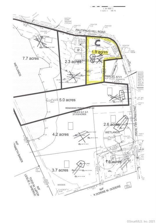 98 Pautipaug Hill Road Lot C, Sprague, CT 06330 (MLS #170397066) :: Next Level Group