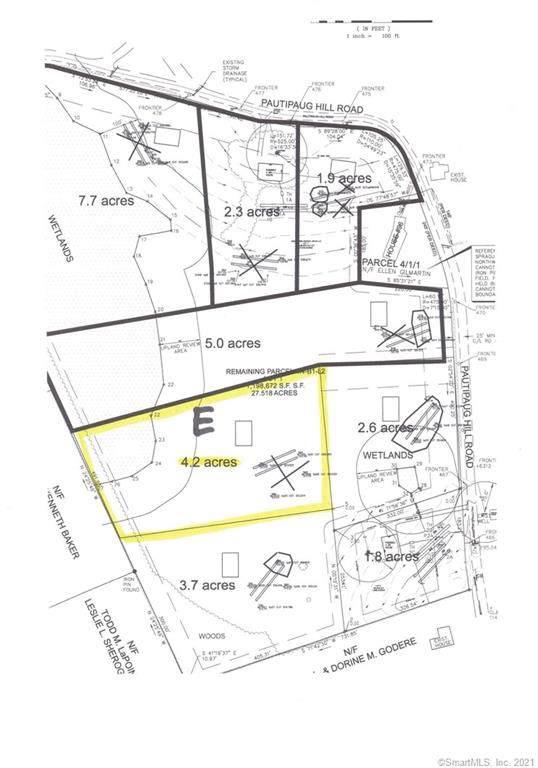 98 Pautipaug Hill Road Lot E, Sprague, CT 06330 (MLS #170397069) :: Next Level Group