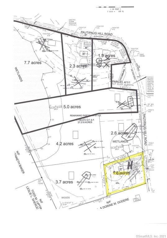 98 Pautipaug Hill Road Lot H, Sprague, CT 06330 (MLS #170397072) :: Next Level Group