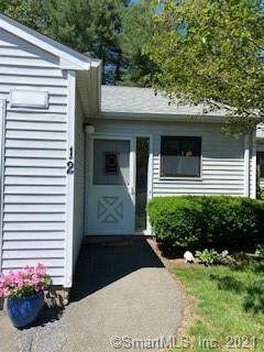 12 Knoll Lane #12, Simsbury, CT 06089 (MLS #170411411) :: Spectrum Real Estate Consultants