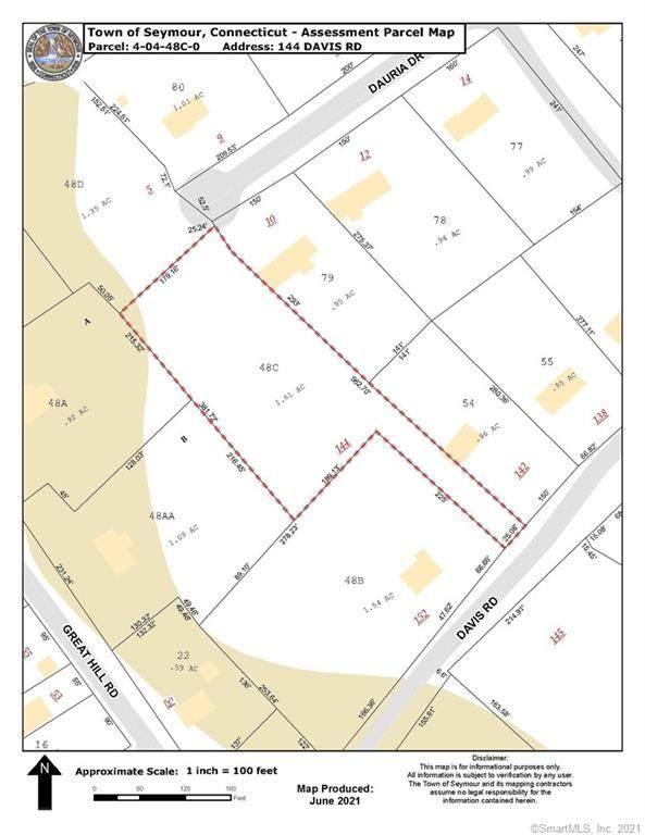 144 Davis Road, Seymour, CT 06483 (MLS #170420417) :: Michael & Associates Premium Properties | MAPP TEAM