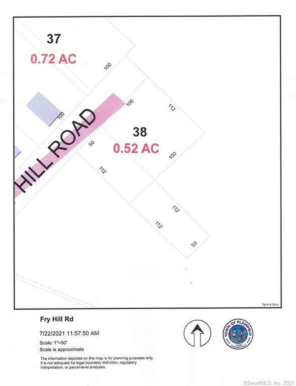 0 Fry Hill Road, Plainfield, CT 06374 (MLS #170422259) :: Team Feola & Lanzante | Keller Williams Trumbull