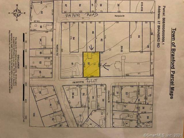 37 Brainerd Road, Branford, CT 06405 (MLS #170435827) :: Linda Edelwich Company Agents on Main