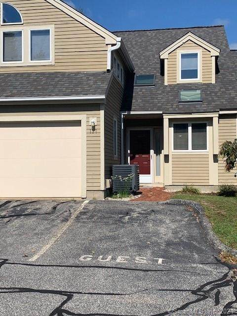 121 Courtyard Lane #121, Mansfield, CT 06268 (MLS #170436656) :: The Higgins Group - The CT Home Finder