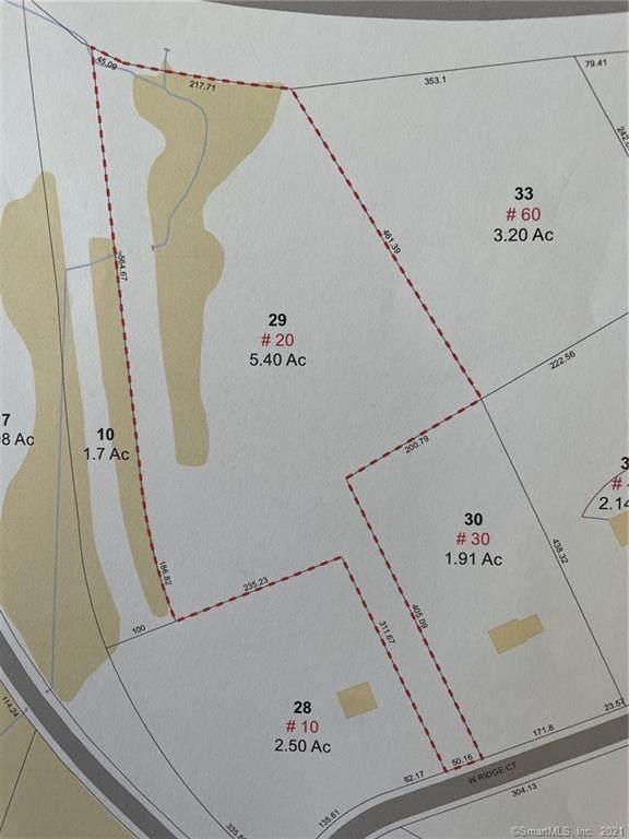 20 W Ridge Court, Cheshire, CT 06410 (MLS #170445970) :: Around Town Real Estate Team
