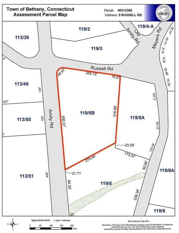 9/Lot 3 Russell Road, Bethany, CT 06524 (MLS #99169288) :: Carbutti & Co Realtors