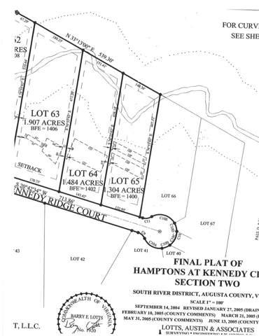 TBD SE Kennedy Ct #65, Stuarts Draft, VA 24477 (MLS #573881) :: Jamie White Real Estate