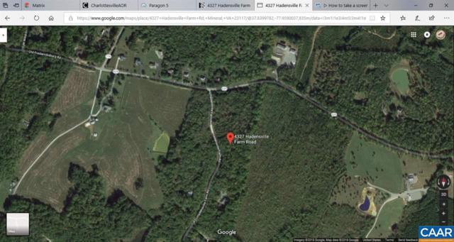 4327 Hadensville Farm Rd, MINERAL, VA 23117 (MLS #584110) :: Strong Team REALTORS