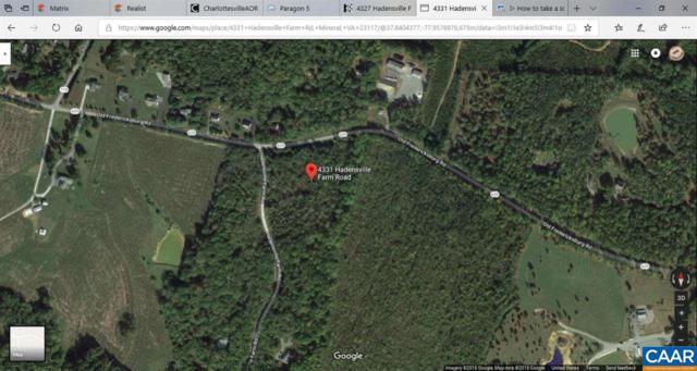 4331 Hadensville Farm Rd, MINERAL, VA 23117 (MLS #584111) :: Strong Team REALTORS