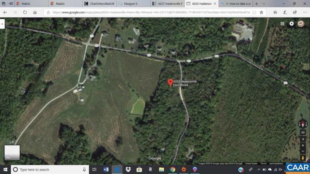 4333 Hadensville Farm Rd, MINERAL, VA 23117 (MLS #584112) :: Strong Team REALTORS