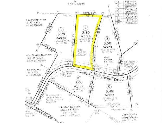 Lot 2 Sharps Creek Dr #2, SCOTTSVILLE, VA 24590 (MLS #590900) :: Jamie White Real Estate