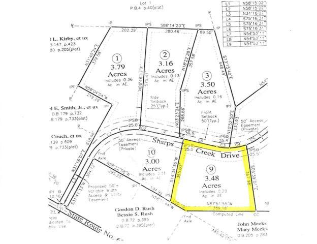 Lot 9 Sharps Creek Dr #9, SCOTTSVILLE, VA 24590 (MLS #590907) :: Jamie White Real Estate