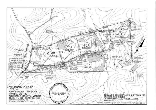 0 Brocks Mill Rd 1, 2, 3, 4, And, CHARLOTTESVILLE, VA 22911 (MLS #596147) :: Jamie White Real Estate