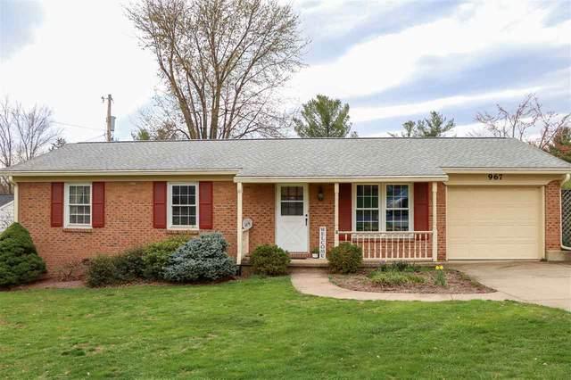 967 Lee Ave, HARRISONBURG, VA 22802 (MLS #602004) :: Jamie White Real Estate
