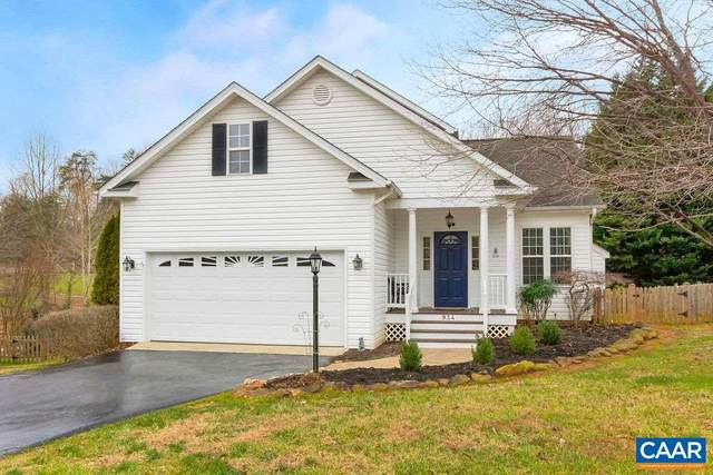 934 Canvas Back Dr, CHARLOTTESVILLE, VA 22903 (MLS #612511) :: KK Homes