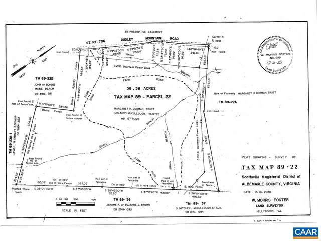 Lot 22 Dudley Mountain Rd Tax Map 89-22, CHARLOTTESVILLE, VA 22903 (MLS #613949) :: Jamie White Real Estate