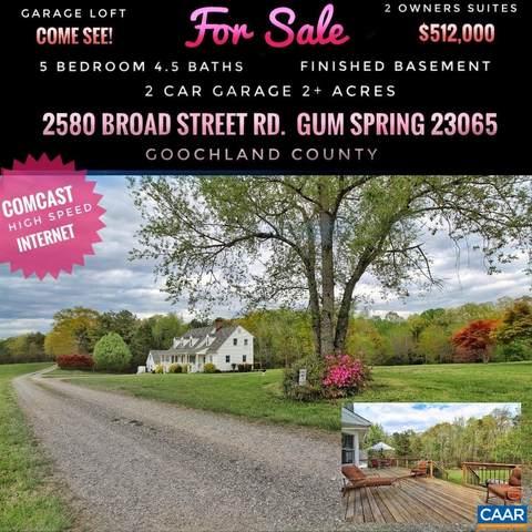 2580 Broad Street Rd, GUM SPRING, VA 23065 (MLS #615616) :: KK Homes
