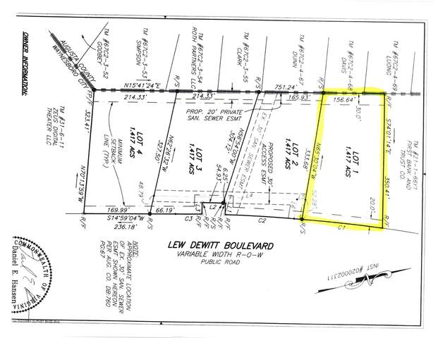Lot Z1 Lew Dewitt Blvd, WAYNESBORO, VA 22980 (MLS #620934) :: Kline & Co. Real Estate