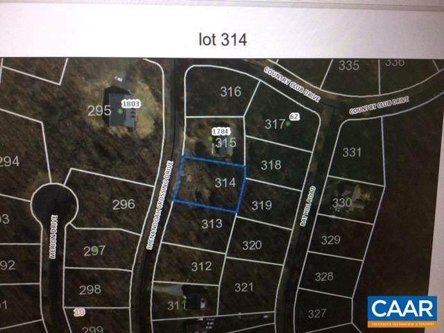 Shenandoah Crossing Dr #314, GORDONSVILLE, VA 22942 (MLS #617647) :: Real Estate III