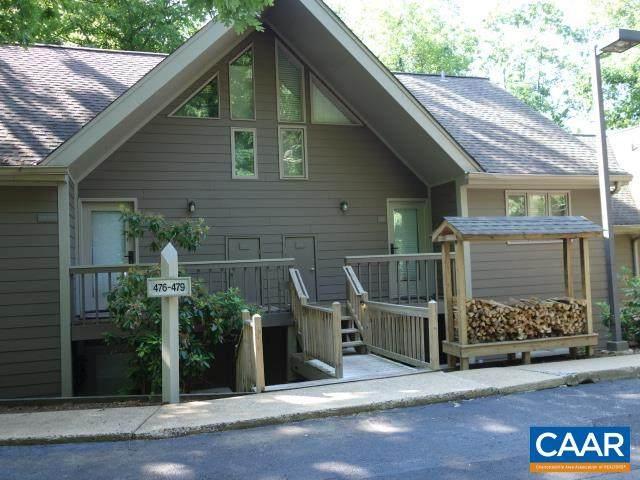478 Three Ridges Condos, Wintergreen Resort, VA 22967 (MLS #619024) :: Jamie White Real Estate