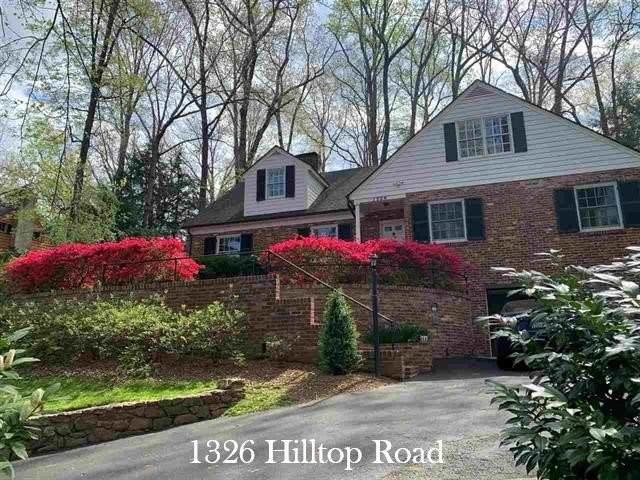 1326 Hilltop Rd, CHARLOTTESVILLE, VA 22903 (MLS #608153) :: Real Estate III