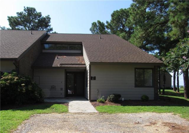 61 Westland Drive #61, White Stone, VA 22578 (MLS #1830859) :: Explore Realty Group